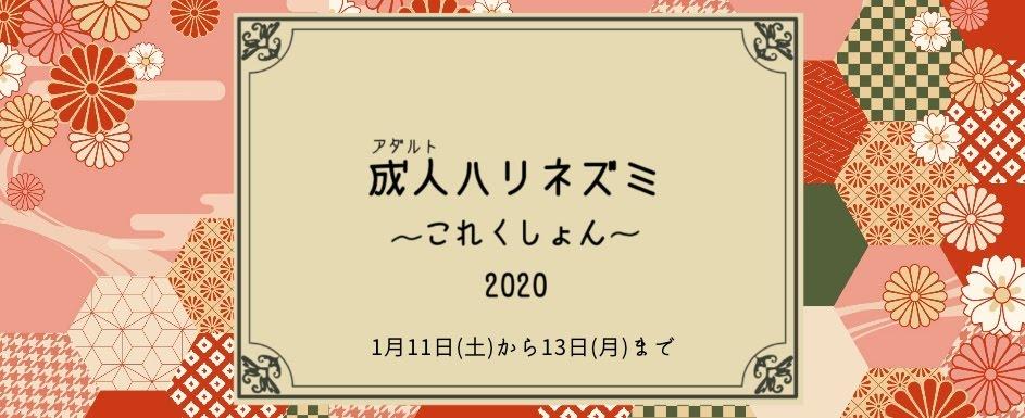 1月11、12、13日成人ハリネズミこれくしょん開催!